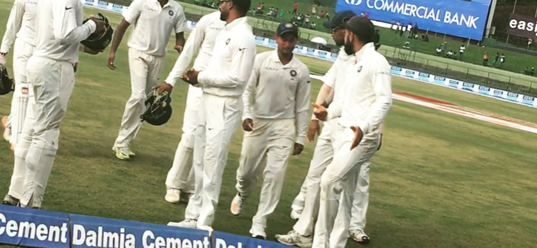 India Vs Srilanka 3rd Test Match Day 2 : Hardik Pandya scores fastest ton, Kuldeep takes 4 wickets as Lanka Dismissed For 135, Made To Follow-On