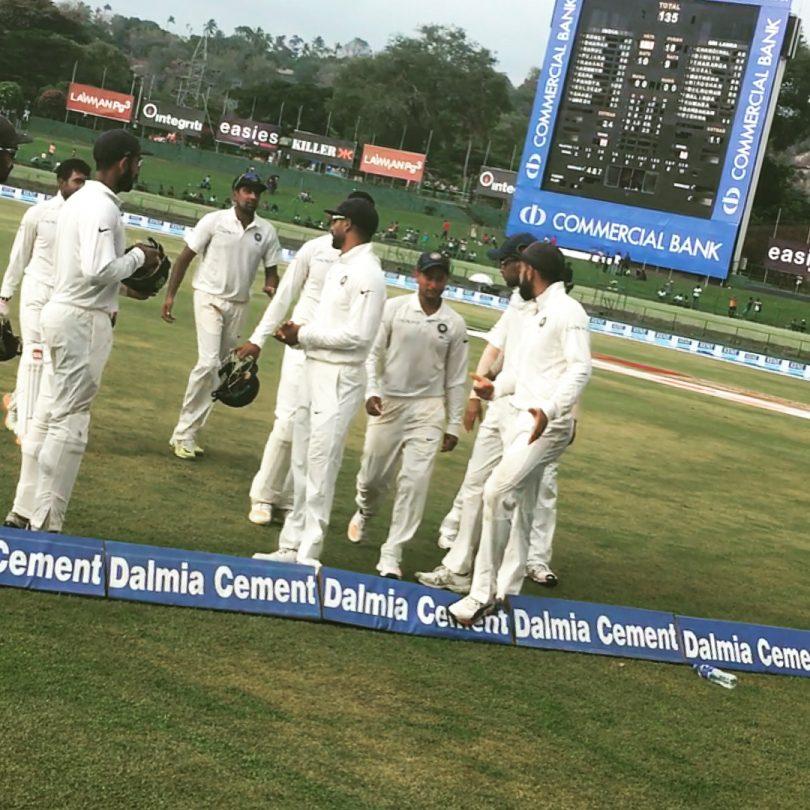 India Vs Srilanka 3rd Test Match Day 2 : Hardik Pandya scores fastest ton, Kuldeep takes 4 wickets as Lanka Dismissed For 135, Made To Follow-On