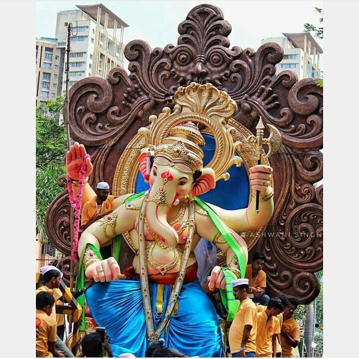 Devotees looking for eco-friendly clay idols of Ganesha in Bhilai