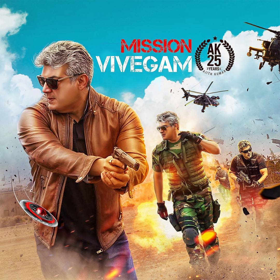 Vivegam first day tickets sales hit to record of 21 Crores