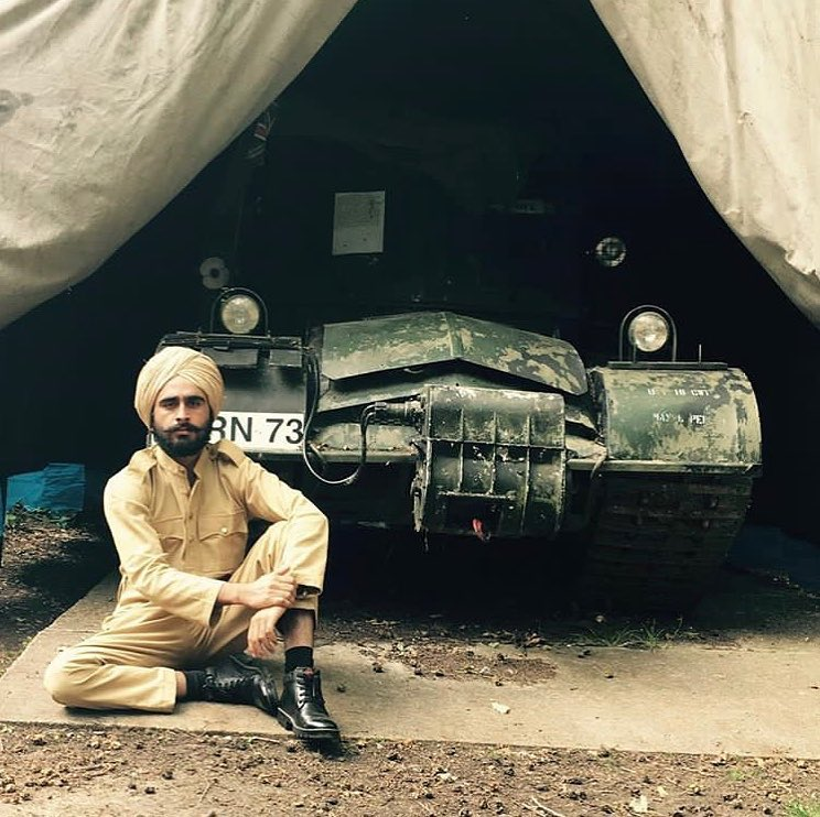 Diljit Dosanjh posted picture of his film Rangrut on Instagram