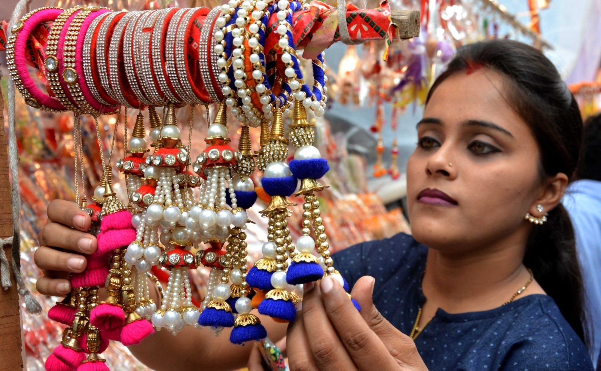 Rakhi shopping all over India