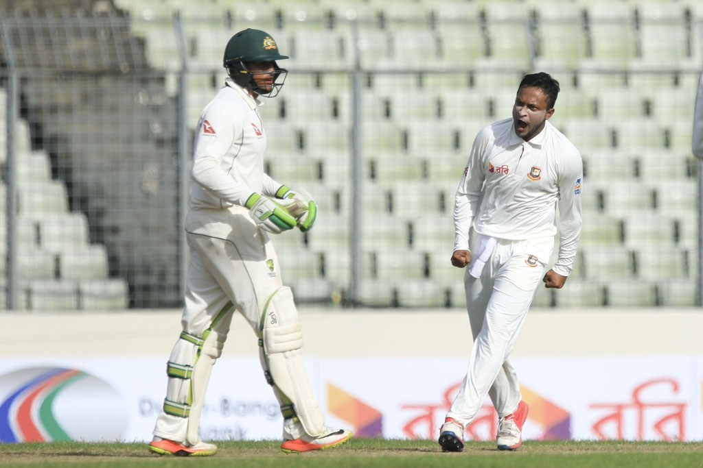 Bangladesh talisman Shakib backs words with action in Dhaka