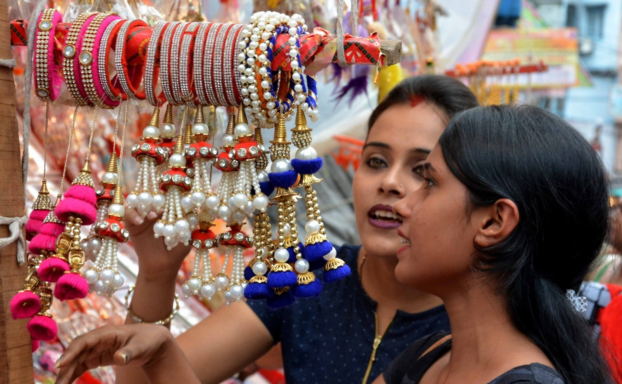 Rakhi shopping for Rakshabandhan