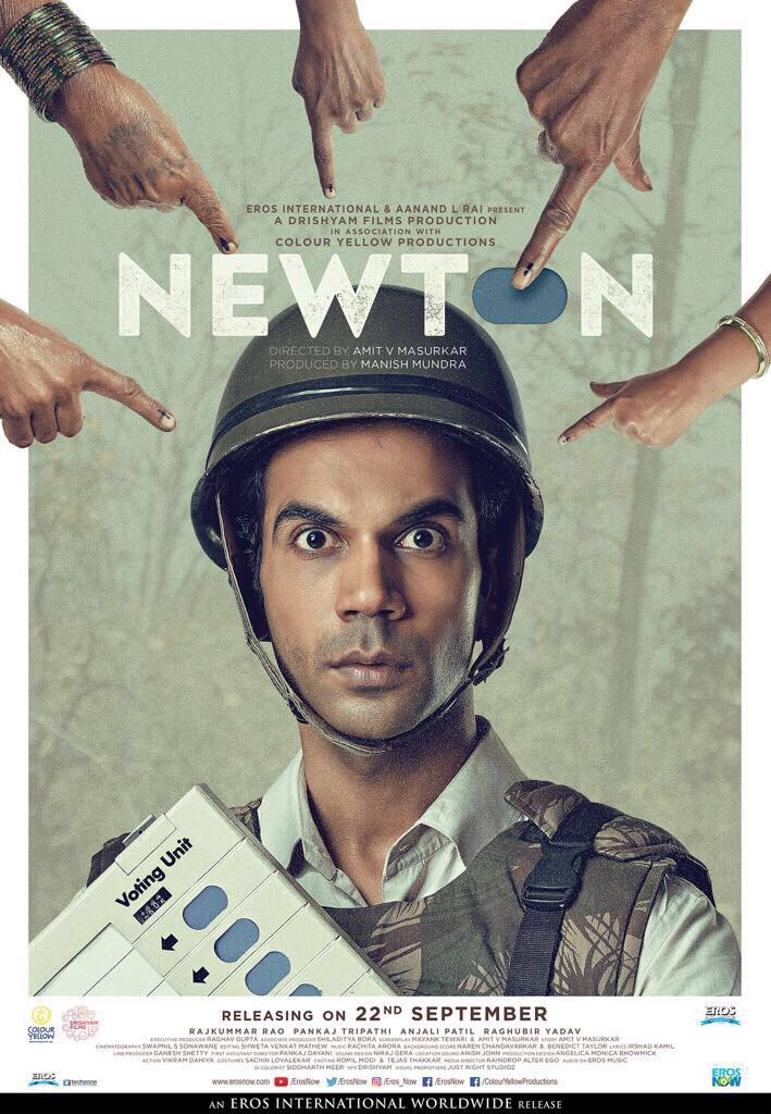 Newton film Rajkummar Rao upcoming movies trailer launch today