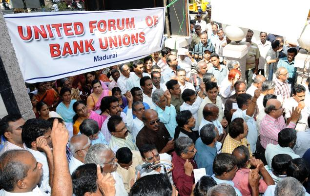 Bank strike today: Maharashtra's commercial operations paralysed