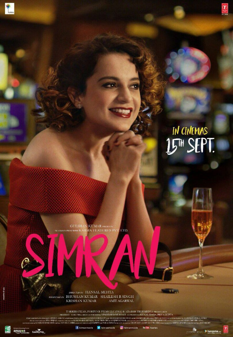 Simran movie has released a new melody 'pinjra' and it is actually music to the ears
