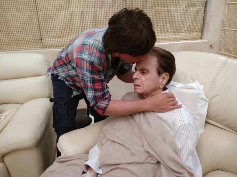 Dilip Kumar is discharged from the hospital and resting at home
