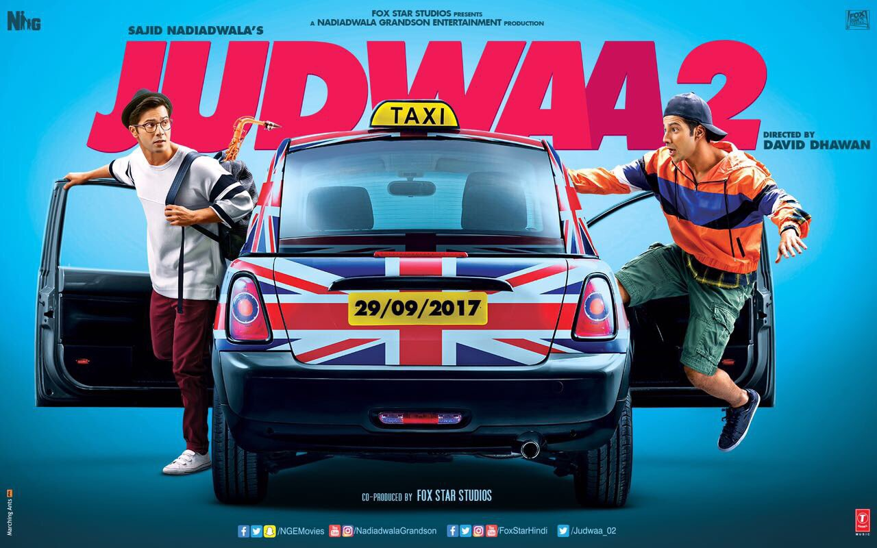 'Judwaa' 2′ First Look Out: Meet 2017's Raja And Prem
