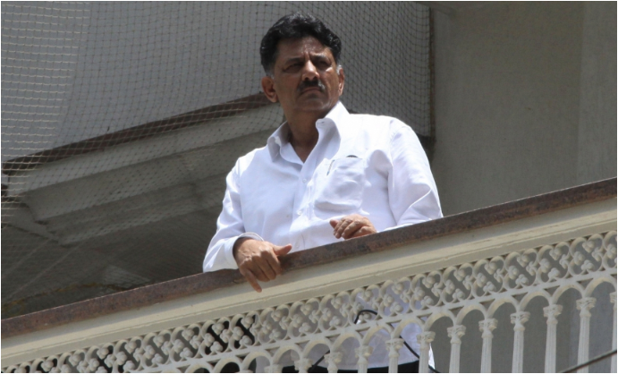 DK Shivakumar: I-T Department raids top Congress Karnataka minister residence