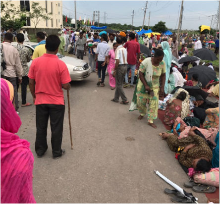 Baba Gurmeet Ram Rahim Singh Dera chief convoy leaves for Panchkula court