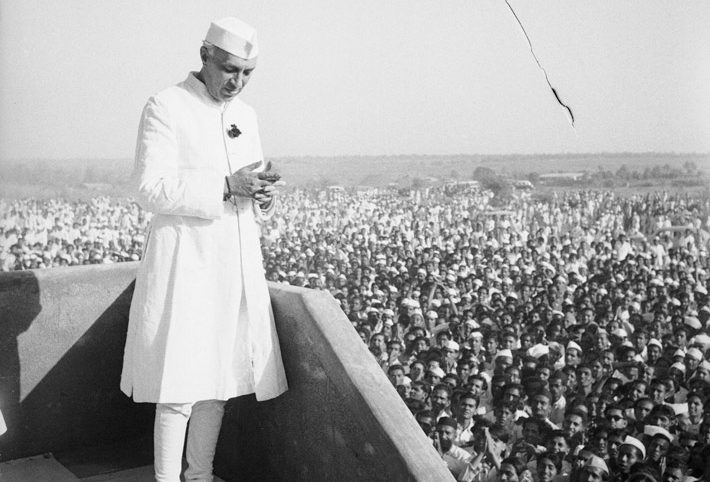 On 15 August 1947 India became a democratic country and got independence from the rule of Britishers. It is a grateful day for all the Indians. Here is a glimpse of Pt Jawaharlal Nehru delivering his famous `tryst with destiny' speech at Red Fort.