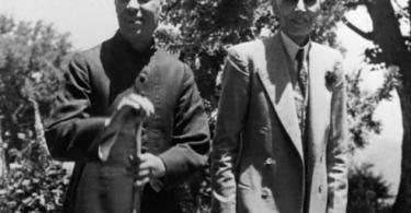 Jawaharlal Nehru with Mohammed Ali jinaah