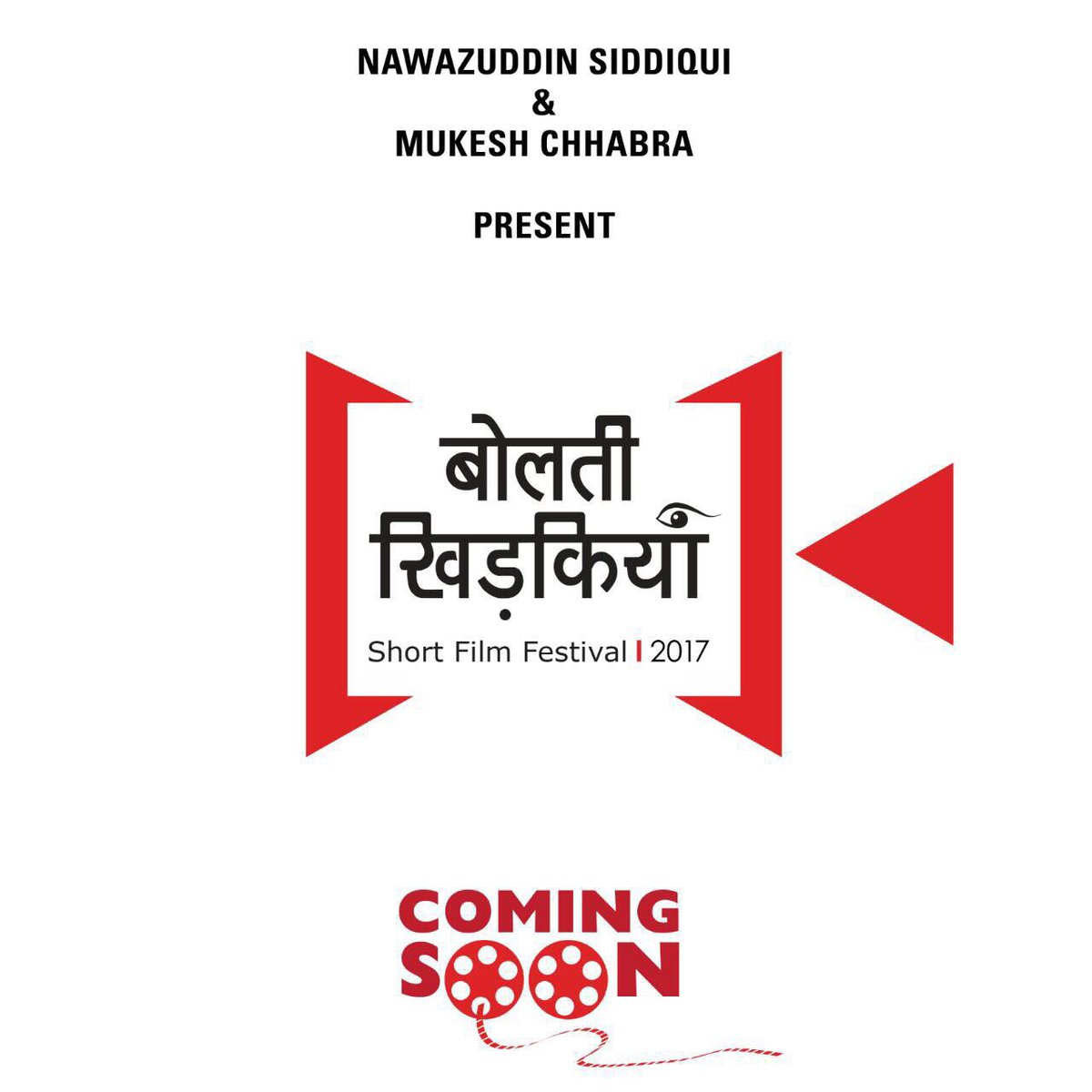 Nawazuddin Siddiqui joins hands with casting director Mukesh Chhabra to present Bolti Khidkiyaan, a Short-film Festival.