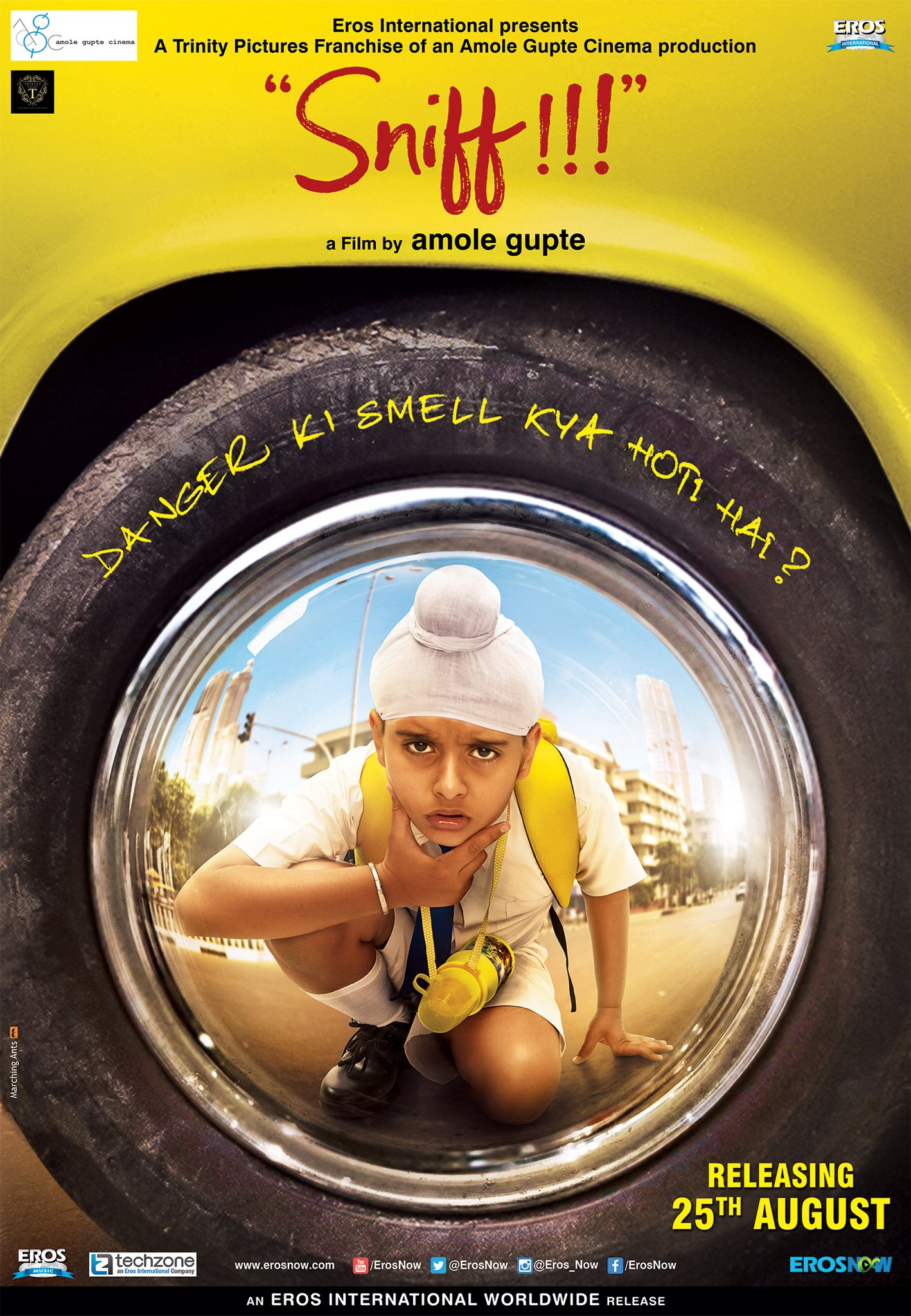 Sniff Movie Review : Amole Gupte Sniff giving us the smelling powers