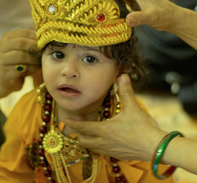 Krishna Janmashtmi , china decoration, mathura, vrindavan