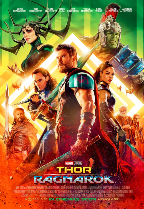 Thor: Ragnarok Movie Poster For Australia And New Zealand Released