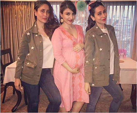 Soha Ali Khan's Baby Shower Photos: Taimur, Kareena and Karisma Kapoor were special guests