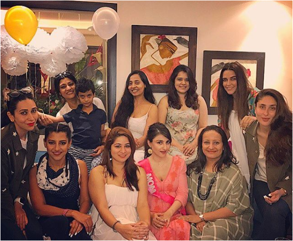 celebrities outshines soha ali khan baby shower