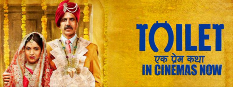 Toilet Ek Prem Katha review and rating : Akshay Kumar is just Surpassing