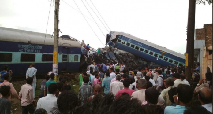 Utkal Express 6 coaches derails in UP, 20 injured