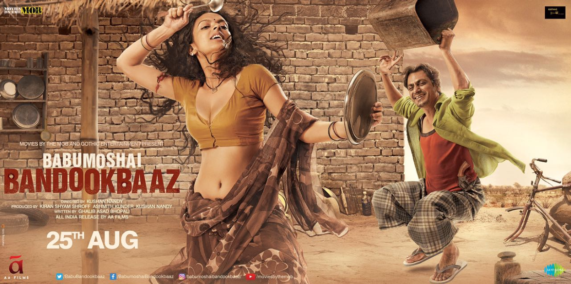 Babumoshai Bandookbaaz movie review : Nawazuddin and Bidita do justice to the character they play