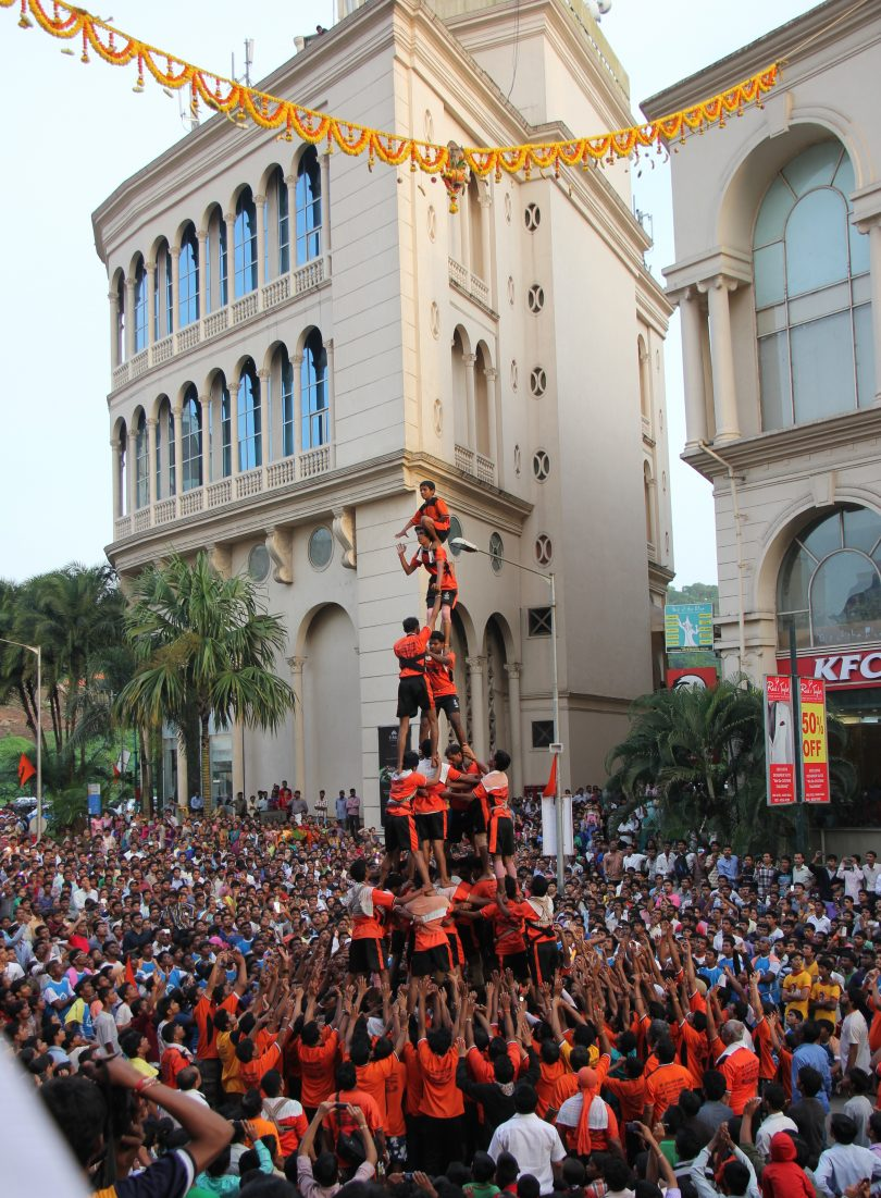 Janmashtami festival 2017 : No restriction on Dahi Handi height , Govindas below 14 year age not allowed