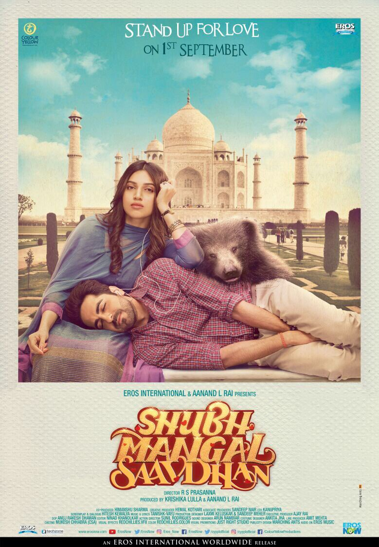 Shubh Mangal Saavdhan movie starring Ayushmann Khurana and Bhumi Pednekar Trailer is out