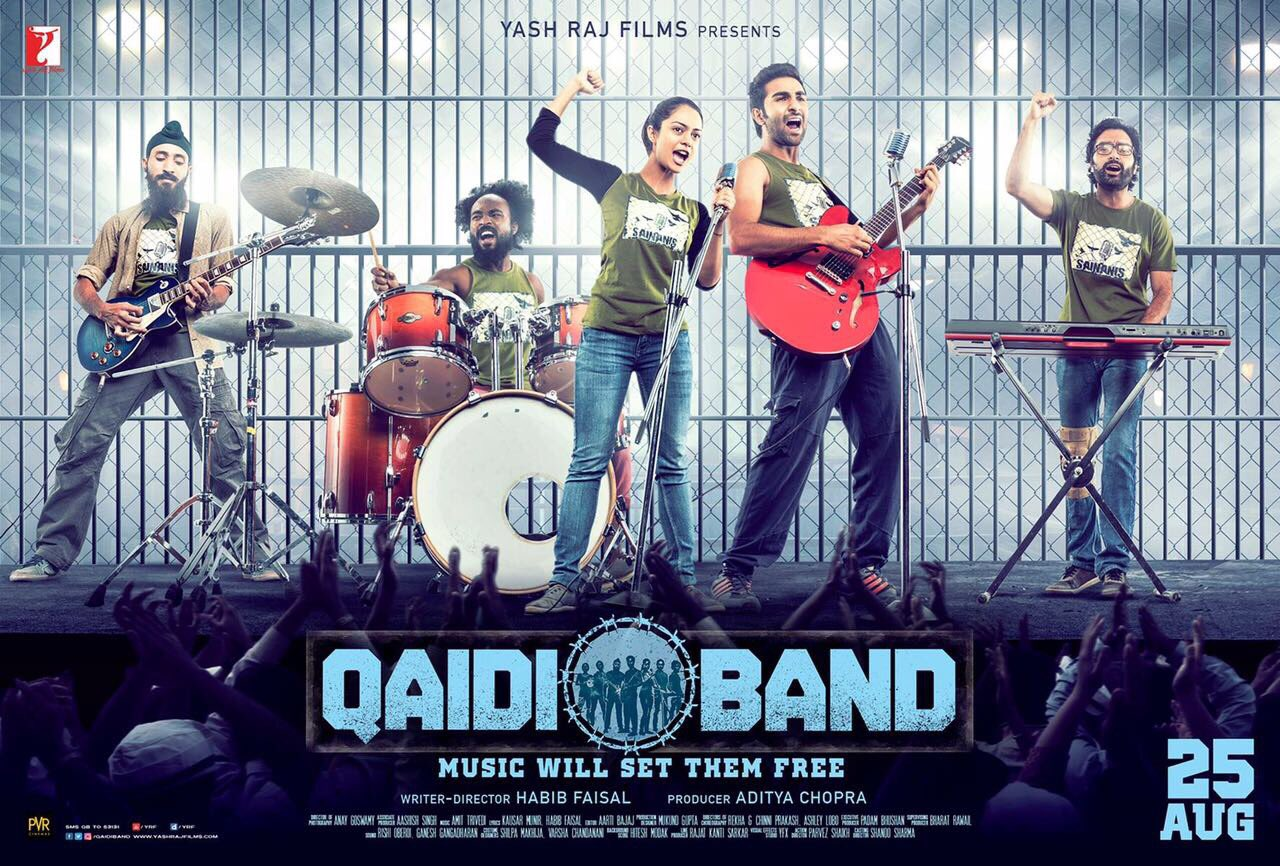 Qaidi band movie new poster starring Aadar Jain and Anya Singh