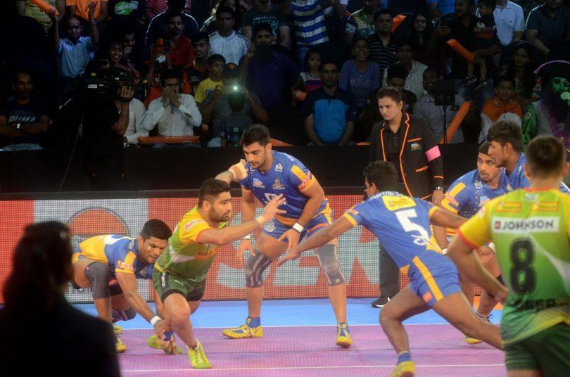 Pro Kabbadi 2017 match : Patna Pirates crush Tamil Thalaivas with Goyat's 11 points