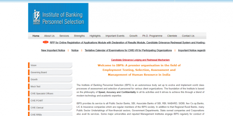 IBPS RRB Admit Card 2017 and Call letter released: Download at ibps.in