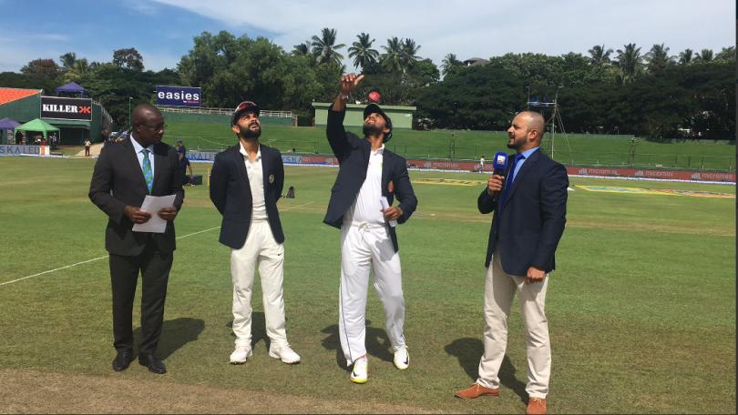 India Vs Srilanka 3rd Test Match Day 1 Update : Virat Kohli decides to bat after winning toss , Kuldeep Yadav in place of Jadeja