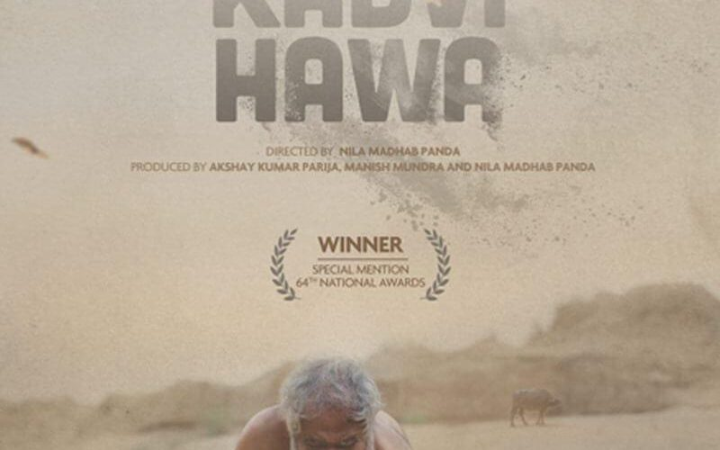 Kadvi Hawa movie gets a first poster look and it is intense