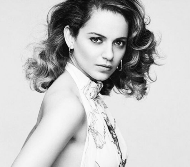 Kangana Ranaut cleared the speculations around her at a press release of Simran movie