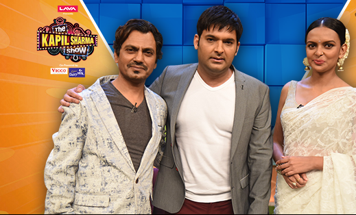 Nawazuddin Siddiqui makes his appearance on The Kapil Sharma Show with Bidita Bag