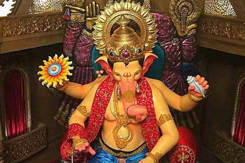 Ganesh Chaturthi 2017 : Mumbai Lalbaugh Cha Raja first look revealed