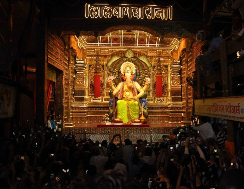 Lalbaugcha Raja LIVE Darshan Day 7 2017 : Watch Aarti and Mukh Darshan