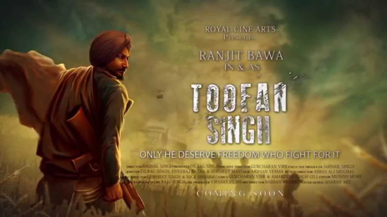 Toofan Singh movie review : Ranjit Bawa a Punjabi hero against oppressing government
