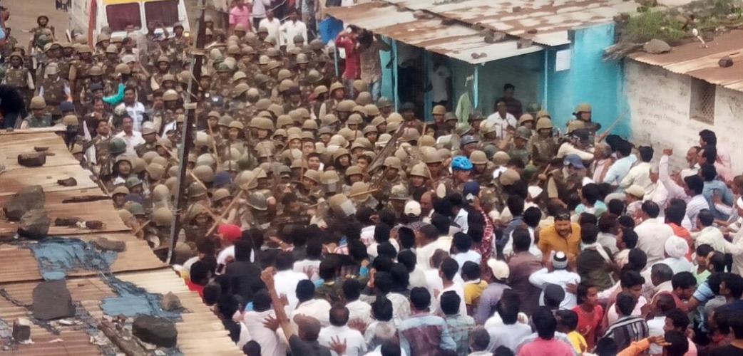 Narmada Bachao Andolan : Medha Patkar in jail , 30 MP BJP leaders resigns