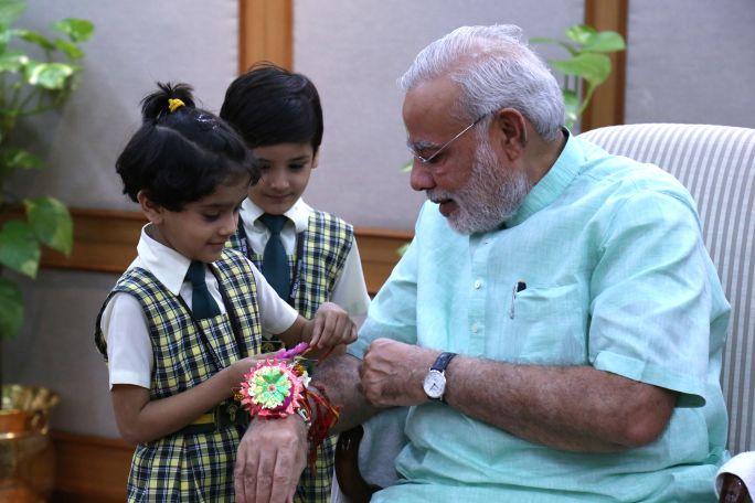 Raksha Bandhan 2017 : 1,500 'rakhis' for brother 'Prime Minister Narendra Modi'