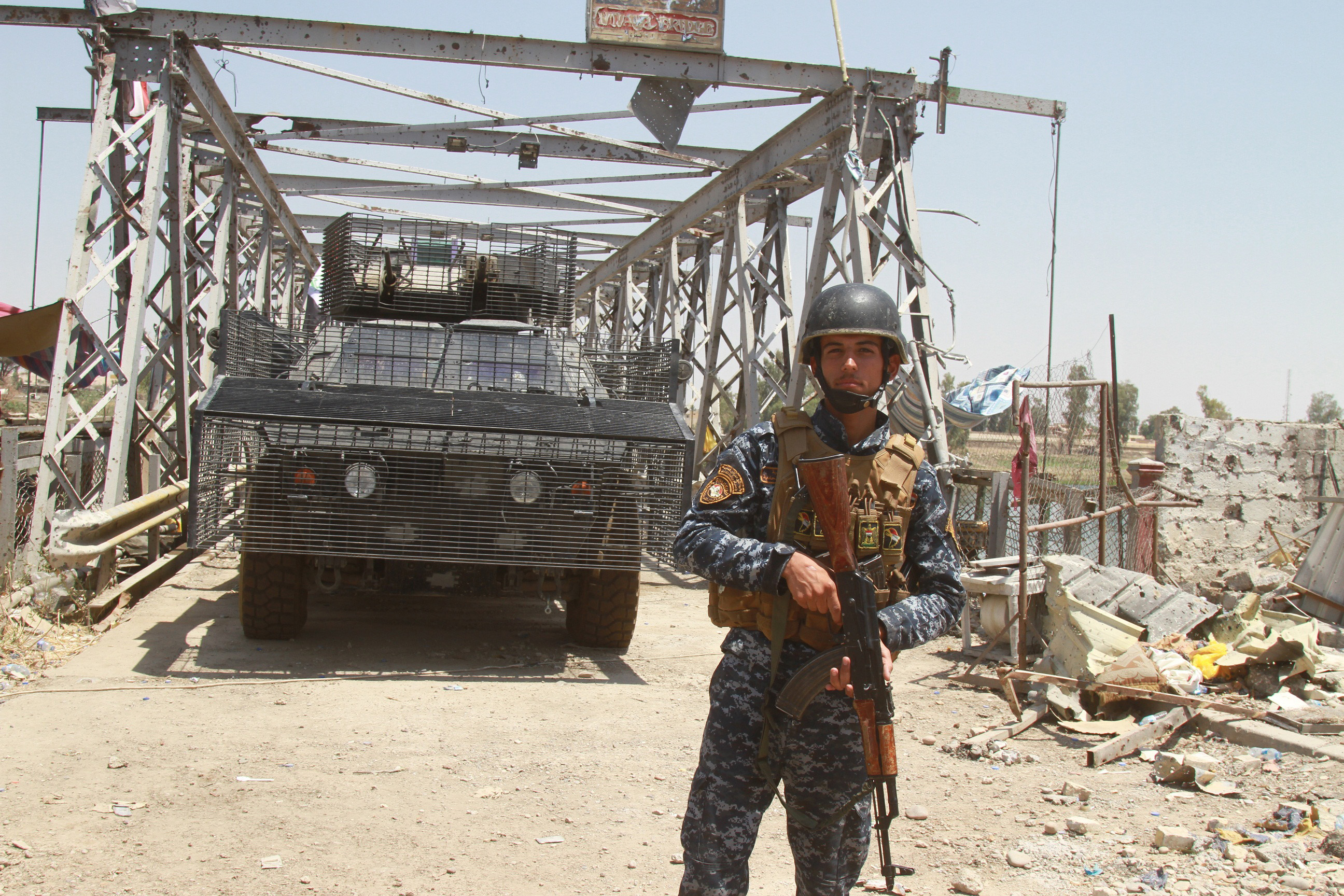 Iraqi forces kills 66 ISIS militants near Mosul city