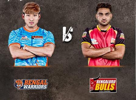 Pro Kabbadi League 2017: Bengal Warriors beat Bengaluru Bulls 32-26 in PKL Season 5 Zone B match