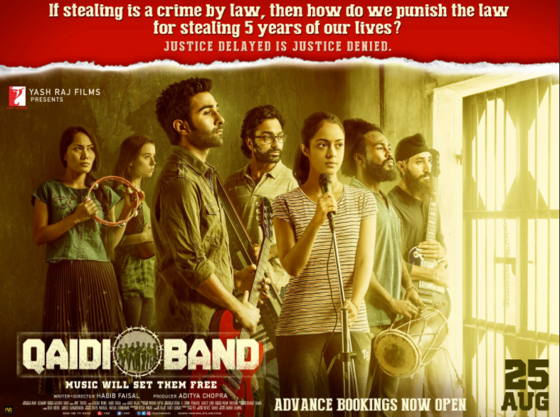 Qaidi Band movie review: A Film based on patriotism