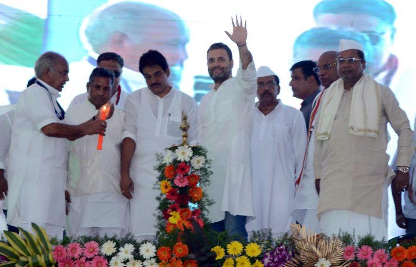 Karnataka Assembly Election 2018 : Rahul Gandhi assures Congress win in Karnataka poll