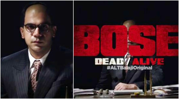 Bose Dead or Alive trailer: Watch it for Rajkummar Rao
