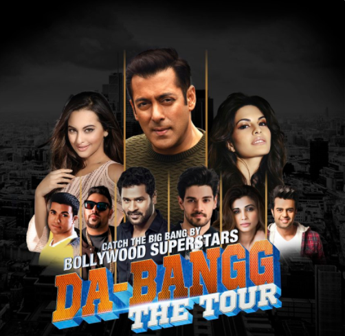 Salman Khan in Britain for Da-Bangg tour after a decade