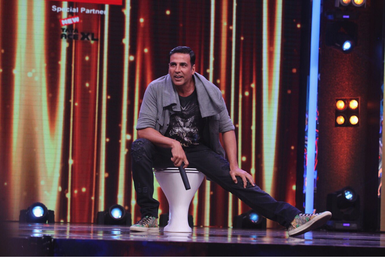 Sa Re Ga Ma Pa lil Champs 5 August 2017 episode and elimination : Akshay Kumar promote Toilet Ek Prem katha movie