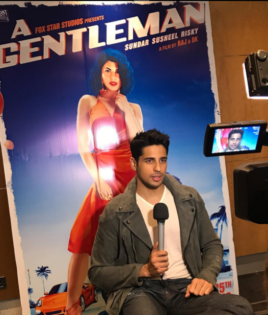 A Gentleman: Sidharth Malhotra describes his role in the movie