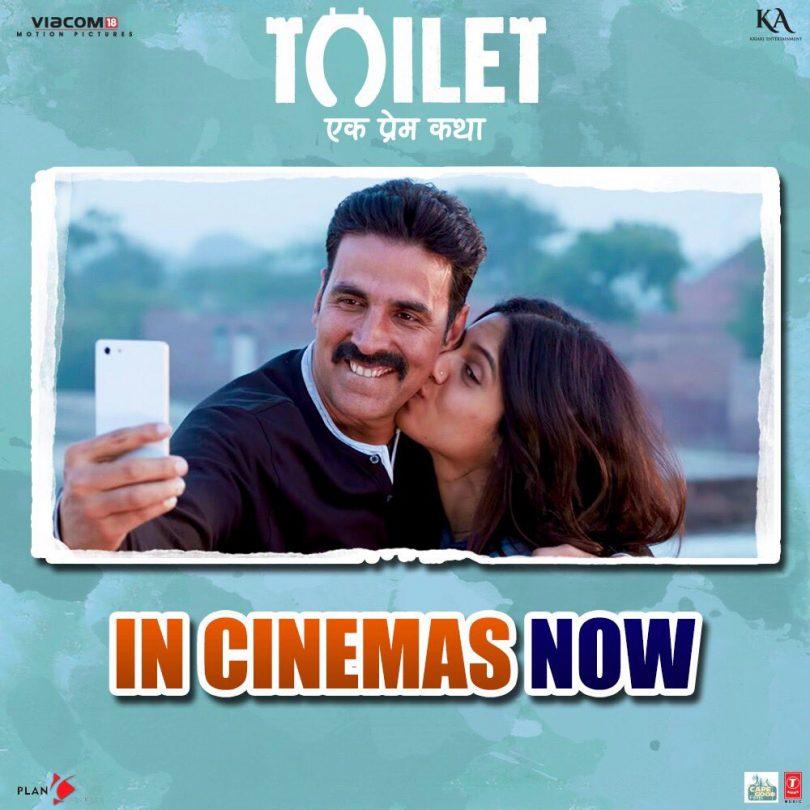Toilet Ek Prem Katha box office report : Akshay movie collection crosses Shahrukh JHMS