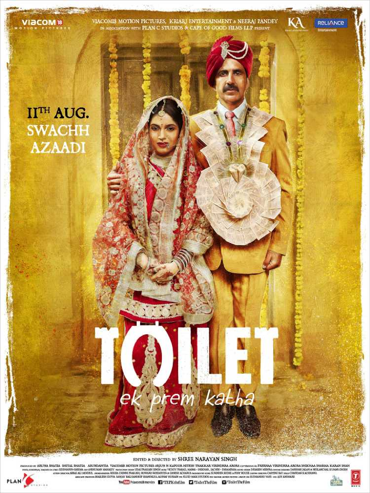 Toilet Ek Prem Katha Box Office Collections races towards 100 crore, grosses 63.45 crore in 4 days
